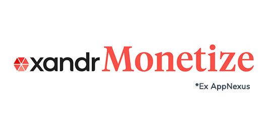 xandr monetize logo