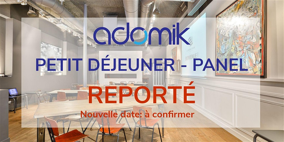Adomik Paris Petit-dej - Panel - Reporte