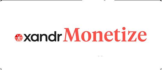 Adomik Troubleshoot - Supported Monetization Partners Xandr Monetize