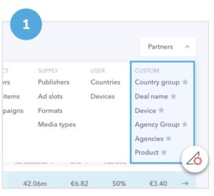 Adomik data Engine - Data customization 1