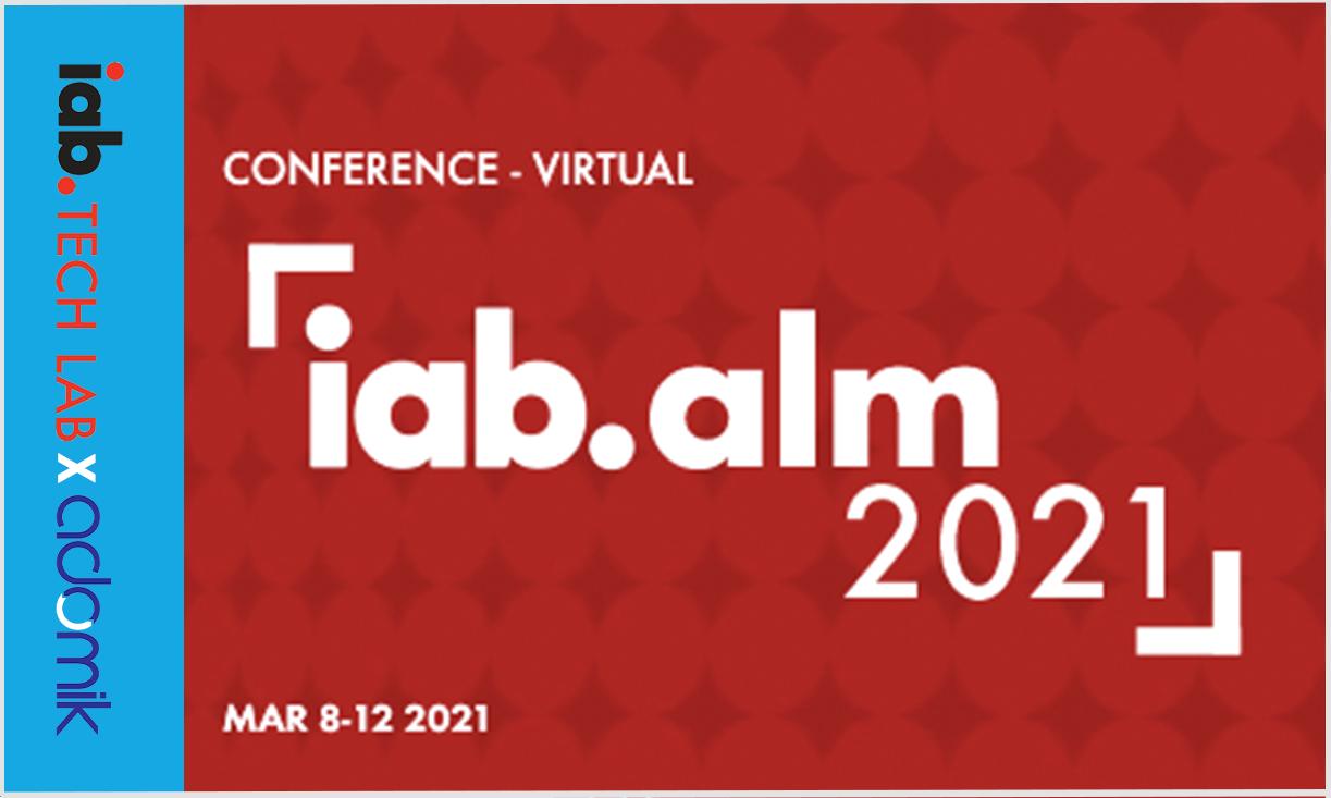 IAB Annual Leadership Meeting 2021 (Virtual) adomik adtech events