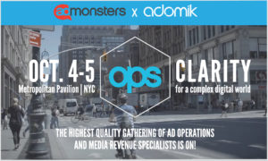 NY OPS Admonsters Adomik Publishers Adtech events 2021