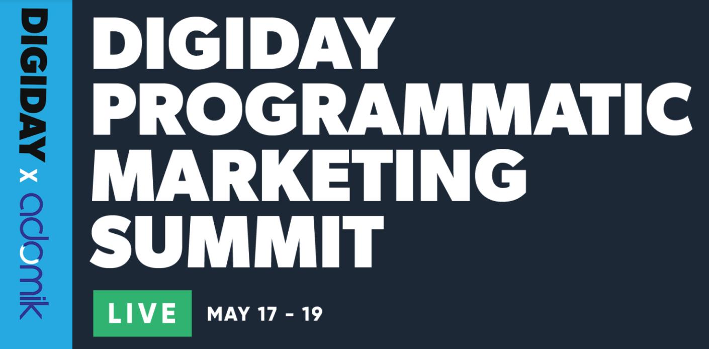 Adomik Digiday Programmatic marketing summit adtech events