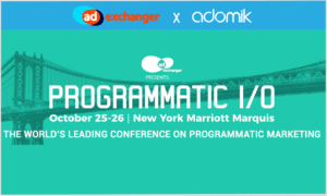 Events page AdExchanger Programmatic I:O
