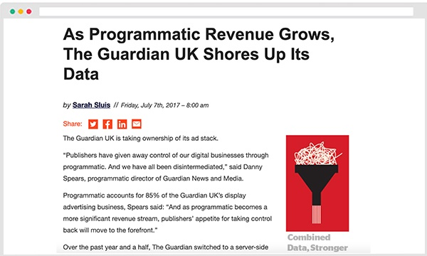 adexchanger adomik adtech news The Guardian UK