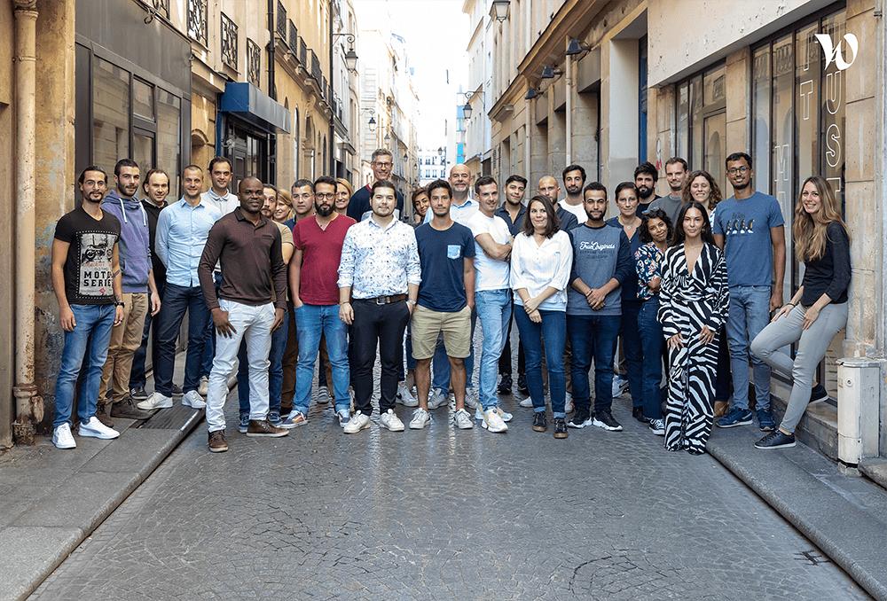 Adomik team photo 2021