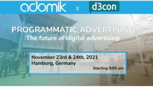 D3con programmatic advertising Adomik
